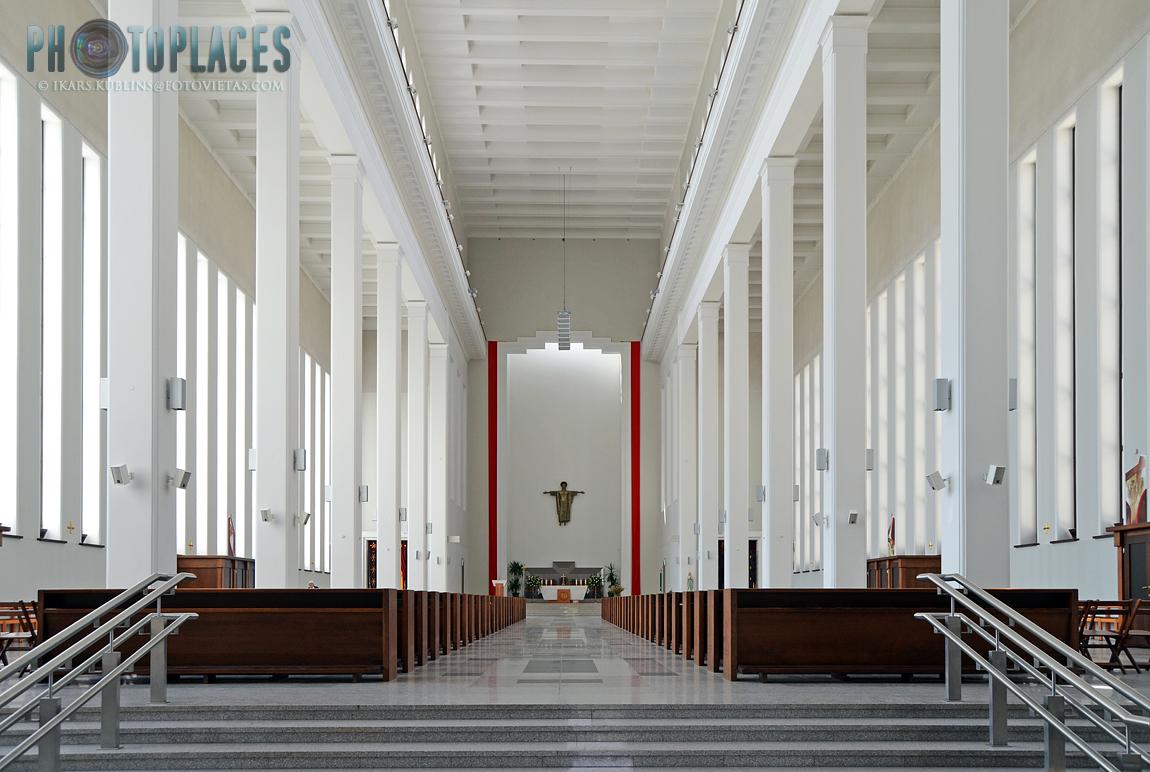 Christ's Resurrection church in Kaunas