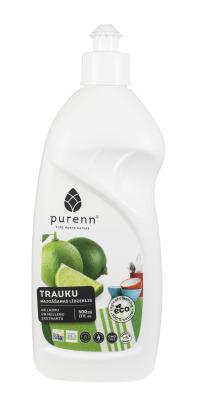 Trauku mazgāšanas līdzeklis ar mellenēm-laimu