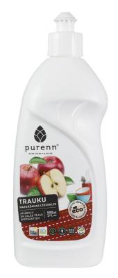 Trauku mazgāšanas līdzeklis ar āboliem-zaļo tēju