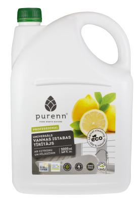Universālais vannas istabas tīrītājs ar citronu un pīlādžiem