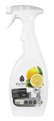 Vannas istabas tīrītājs ar citronu-pīlādžiem