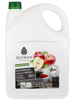 Universāls grīdas mazgāšanas līdzeklis ar laimu un āboliem
