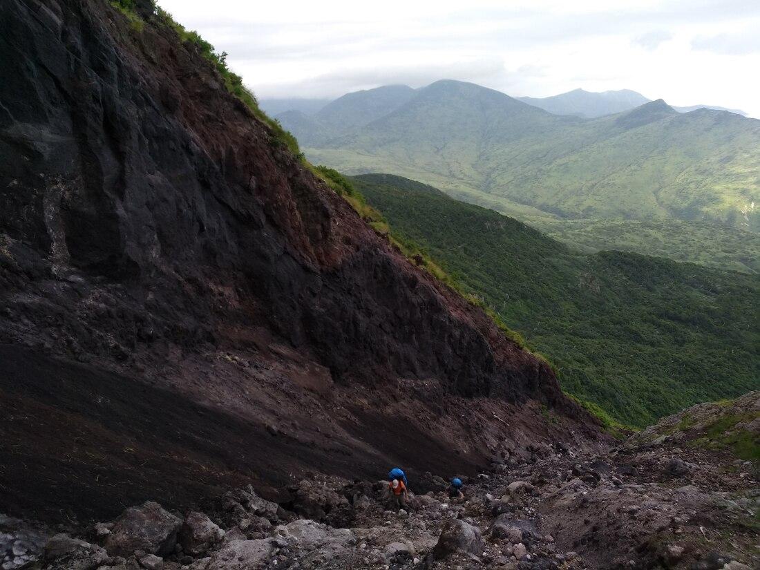 виды с вулкана Баранского