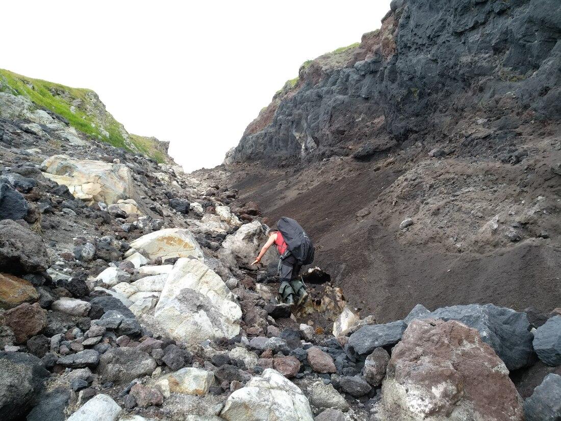 вулкан баранского маршрут наверх от Тихого океана
